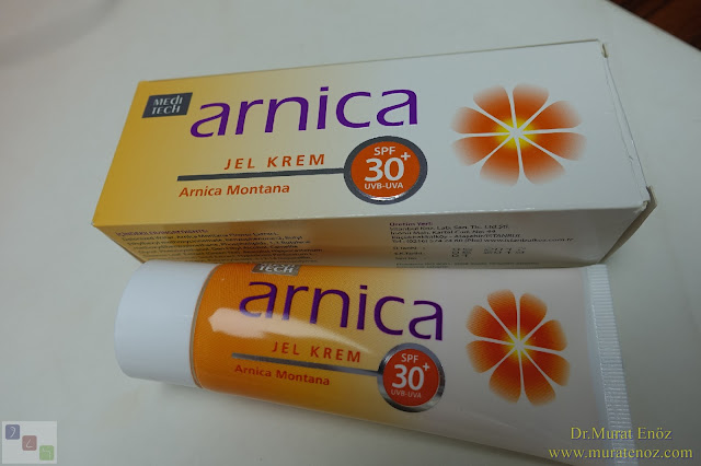 Arnica Jel Krem + Spf 30+