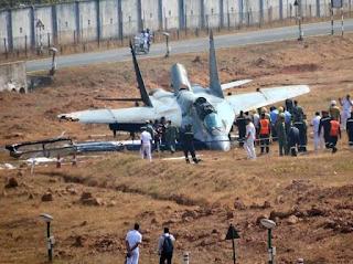Jet Tempur MiG-29K AL India