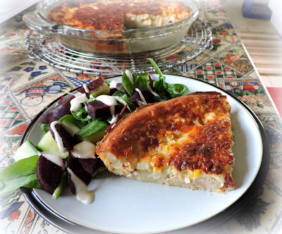 Tuna, Cheese & Corn Dinner Pie