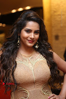 Actress Himaja Stills in Golden Spicy Long Dress at SIIMA Short Film Awards 2017 .COM 0314.JPG