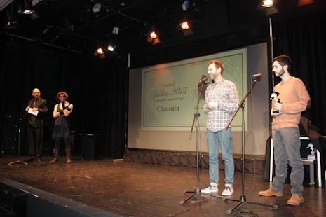 'Ghostly' se hace con el segundo premio del Festival Julius