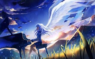 جميع حلقات انمي Angel Beats مترجم عدة روابط