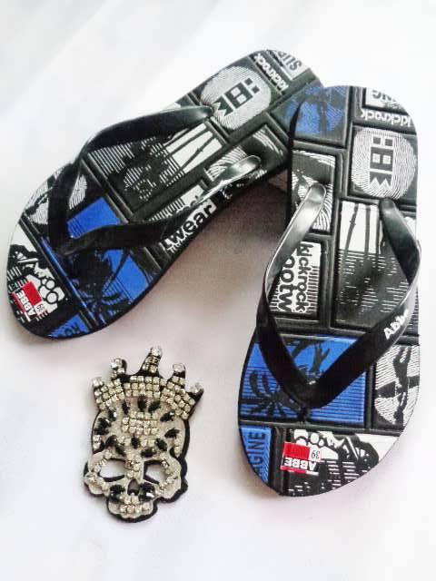 Sandal Murah Online SPon Simplek biru