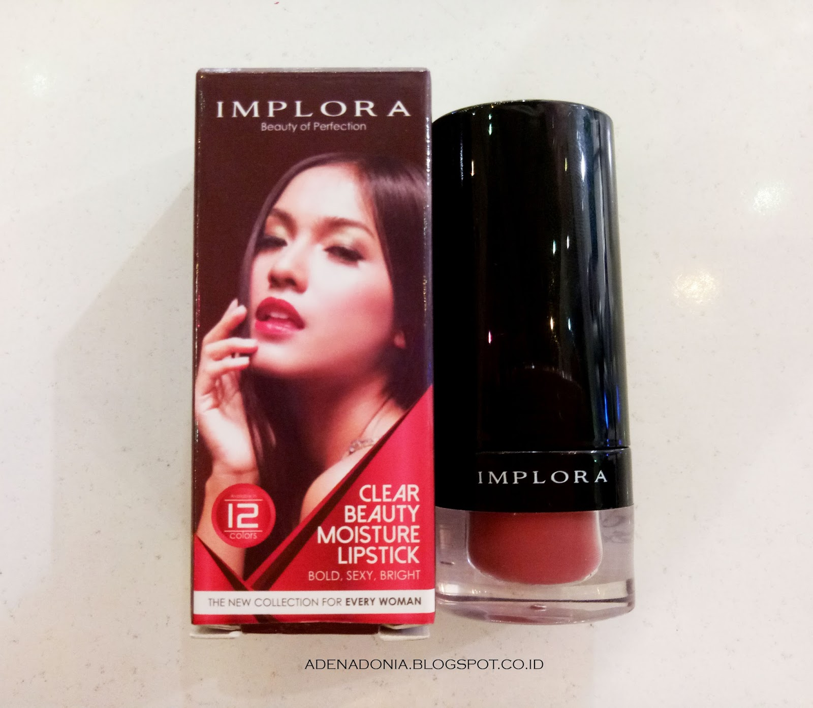 Review : IMPLORA CLEAR BEAUTY MOISTURE LIPSTICK shade 11