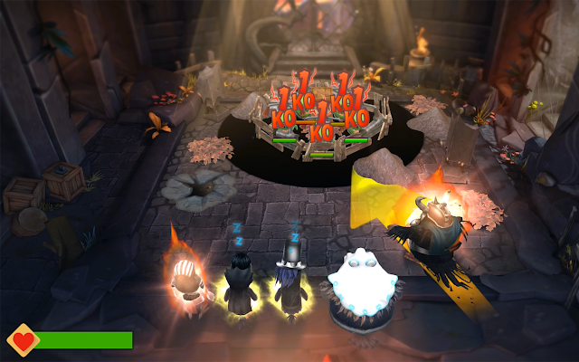 Tampilan Game Angry Birds Evolution