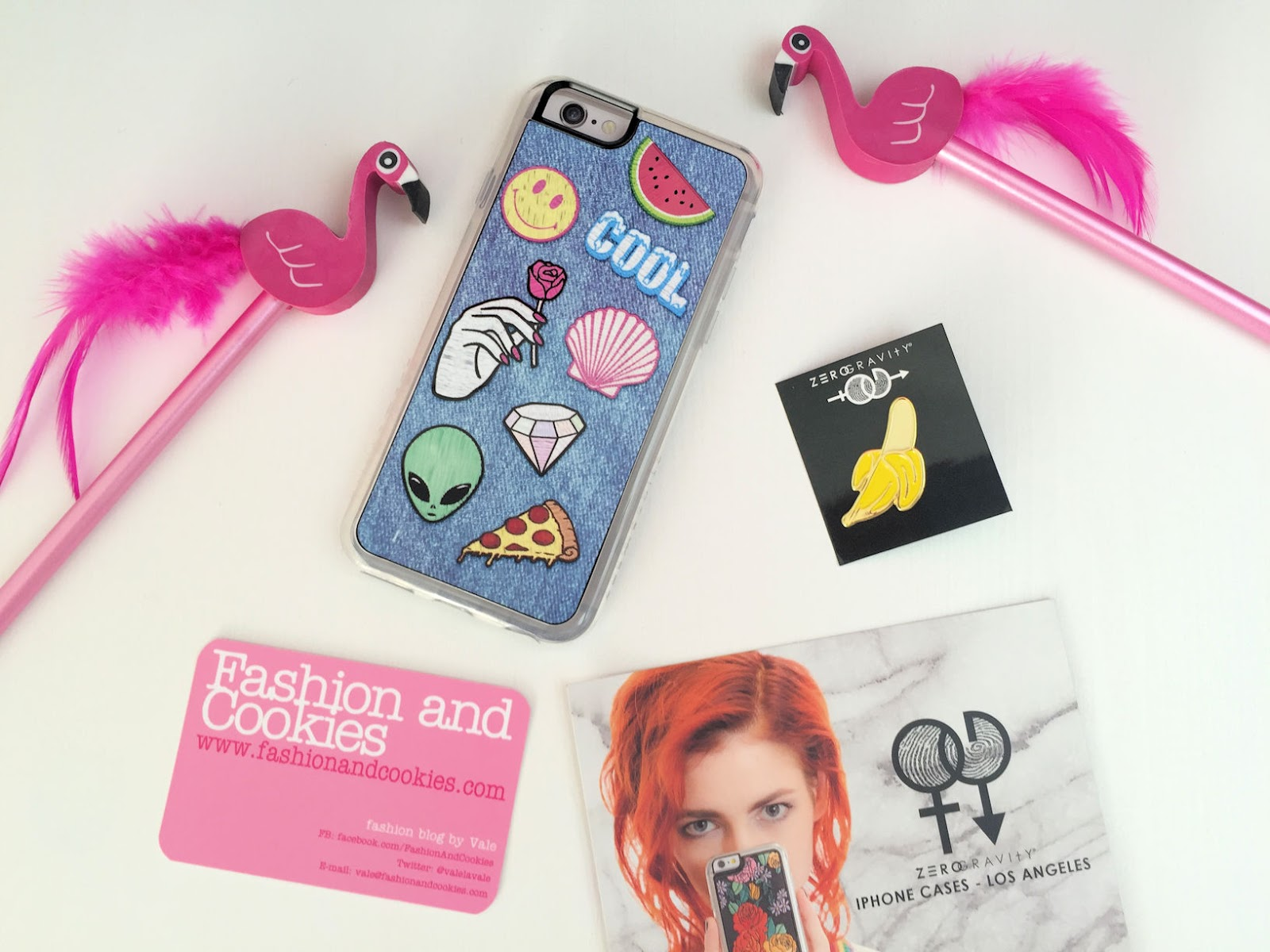 Zero Gravity iPhone 6 riot case and banana pin on Fashion and Cookies fashion and beauty blog, fashion blogger
