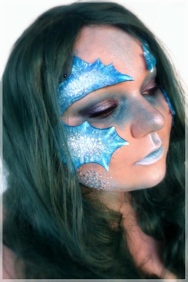 Meerjungfrauen Make-up
