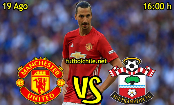Ver stream hd youtube facebook movil android ios iphone table ipad windows mac linux resultado en vivo, online: Manchester United vs Southampton