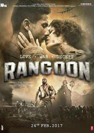 Rangoon 2017 Full Movie Download Pre-DVDRip 700Mb