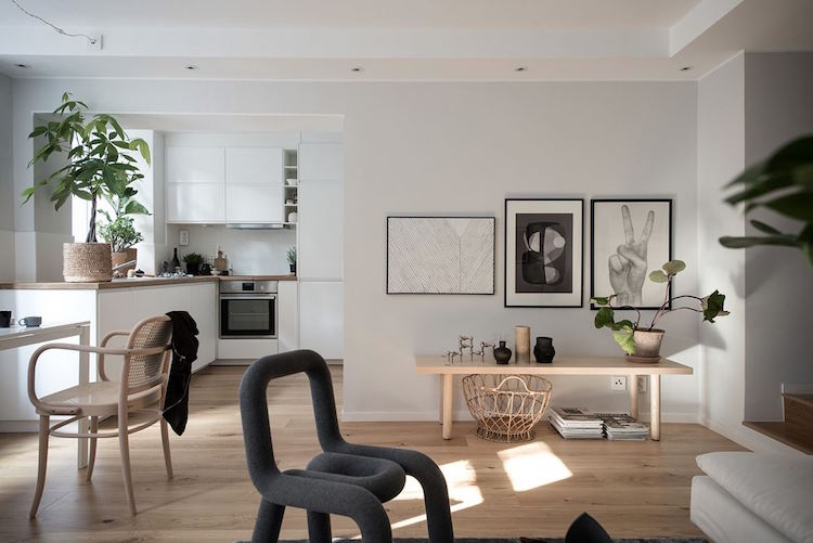A beautiful small swedish apartment my scandinavian for Interieur suedois