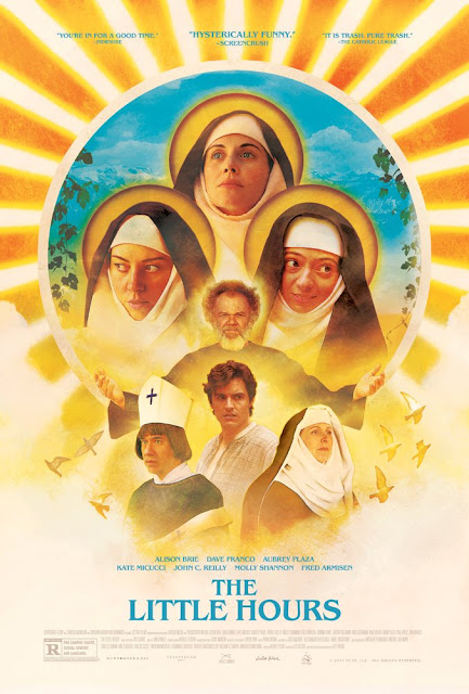 The Little Hours 2017 movie poster Aubrey Plaza Alison Brie Dave Franco