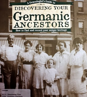Germanic Ancestors, a research book available at the GSMC library