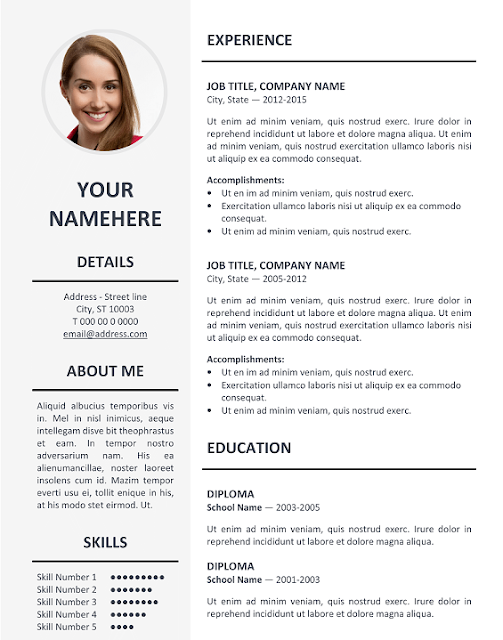 cv templates download resume template for pages professional resume template download resume portfolio template free simple - Cv Resume Samples Download