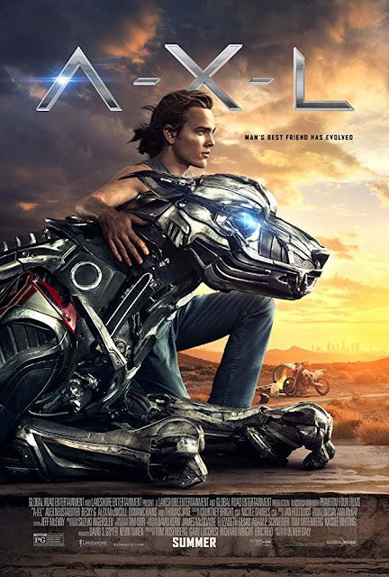 Sinopsis Film A.X.L. 2018 - Thomas Jane, Becky G