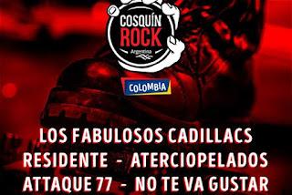 FESTIVAL COSQUIN ROCK 2017 COLOMBIA - BOGOTA