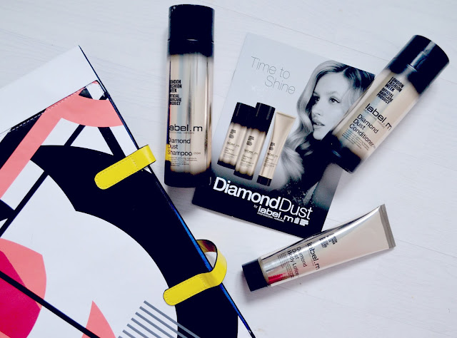 Label.M - diamond dust - Haircare - body lotion - shampoo - condition - review - collection - range