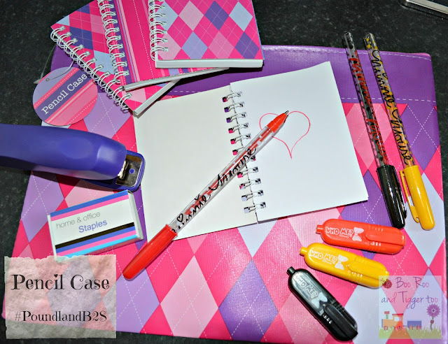 Poundland Back to School Pencil Case #PoundlandB2S