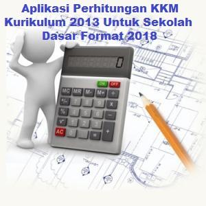 Aplikasi Perhitungan KKM Kurikulum 2013 Untuk Sekolah Dasar Format 2018