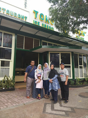 Eksterior toko oen Malang