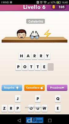 Emoji Quiz soluzione livello  6