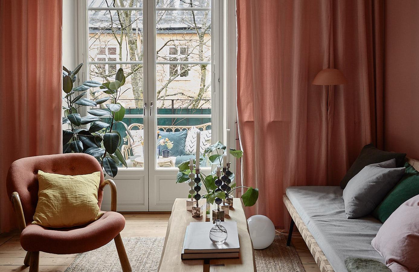Una casa total-pink a Stoccolma