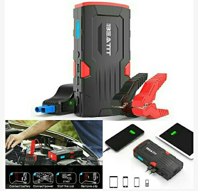 Beatit Car Jump Starter - 18000mAh Dual USB Power Bank