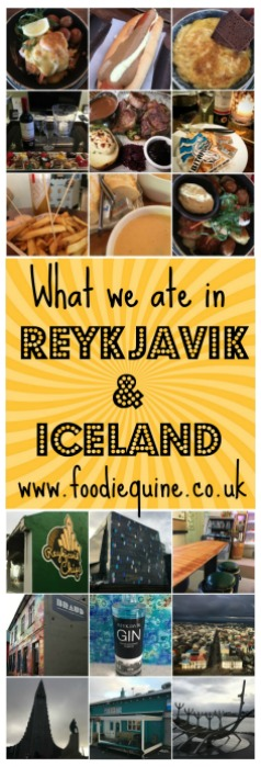Foodie Quine - Eating in Iceland and Reykjavik. Lamb, Seafood, Lobster Soup, Hot Dogs, Reykjavik Chips, Saegreiffin, Braud & Co Bakery, Kaffi Duss, Bitafiskur.