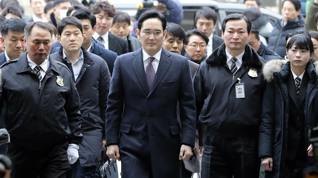 Vice Chairman Samsung Arrested