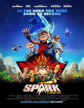 Spark: A Space Tail 2016 English 300MB BluRay 480p ESubs