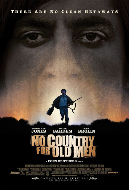No Country for Old Men 2007 movie poster Coen Brothers
