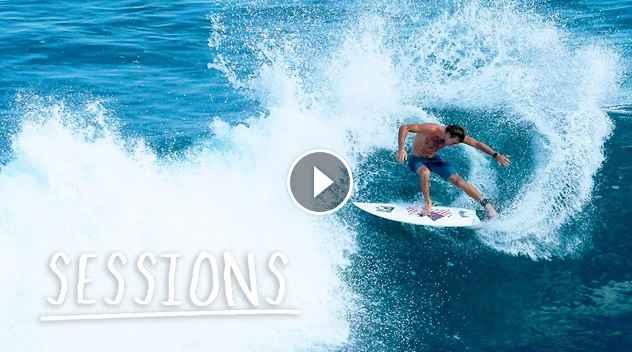 The World Tour Free Surfs At Pumping Uluwatu Sessions