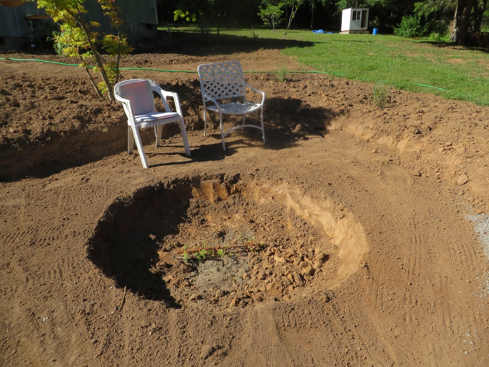 Making a New Garden: The Evolution of a Fire Pit