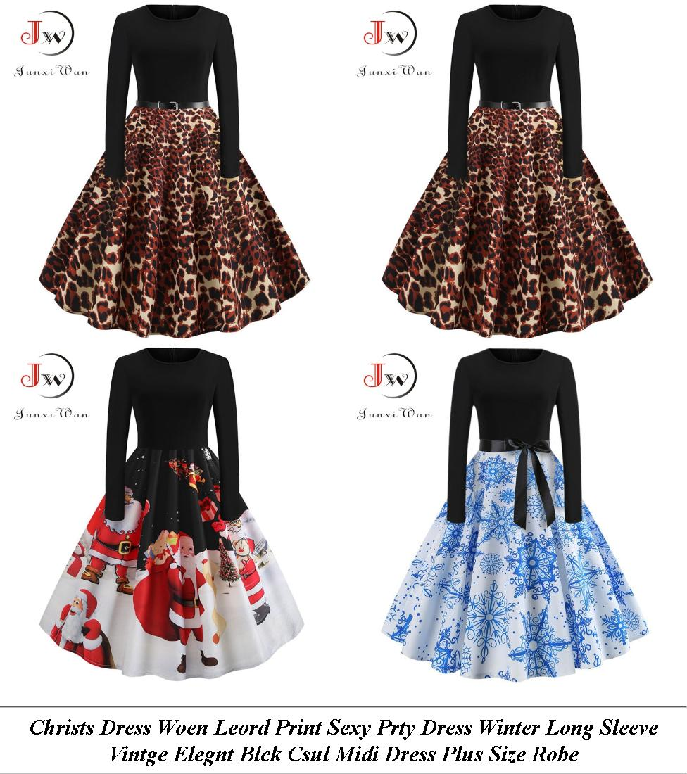 Petite Dresses - Womens Sale Uk - Polka Dot Dress - Cheap Clothes Online