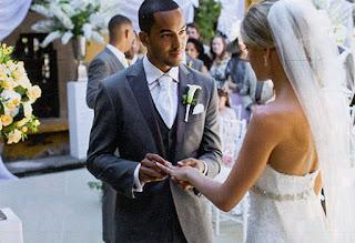 Theo Walcott Weds Melanie Slade