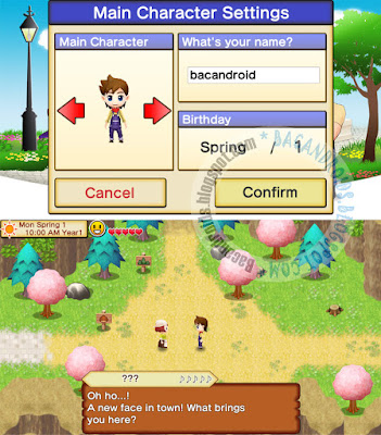 cara download Game Harvest Moon Seeds Of Memories gratis untuk hp android
