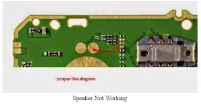 solusi speaker nokia 105