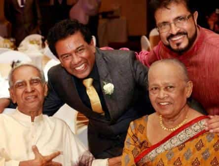 Musician Nawarathna Gamage Elder Son Wedding