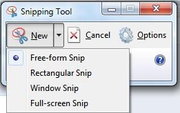 Cara Buka Snipping Tool