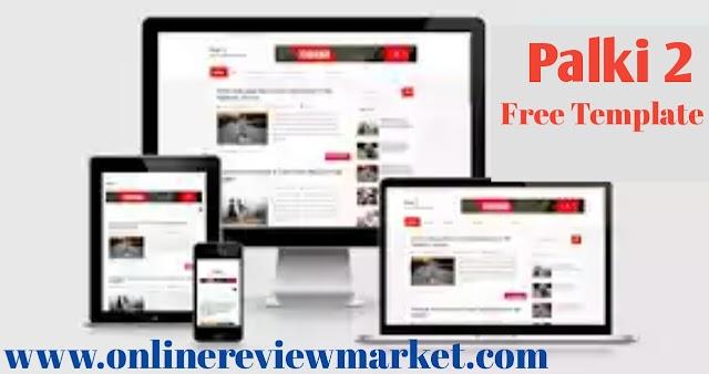 Palki 2 – Responsive Blogger Template Free Download