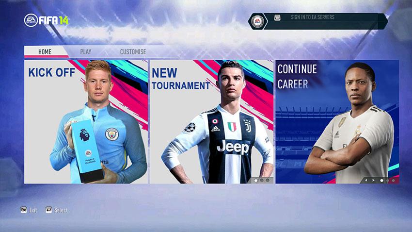 FIFA 14 Next Season Patch 2019 Update v5.0 Season 2018 2019 ... 9eab6de8b