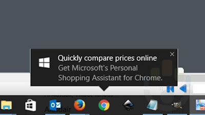 Microsoft Targets Chrome Users With Windows 10 Pop-up Ad