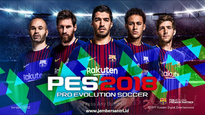 Download PES 2018 (Pro Evolution Soccer) Full Repack + Patch Update for PC Terbaru 2018 Full Version Gratis