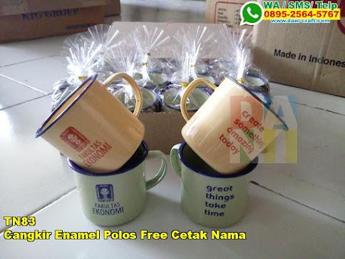 Toko Cangkir Enamel Polos Free Cetak Nama