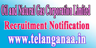 ONGC (Oil and Natural Gas Corporation Limited) Recruitment Notification 2016 ongcindia.com