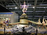 Flughafen Thailand - Quirlen des Milchozeans