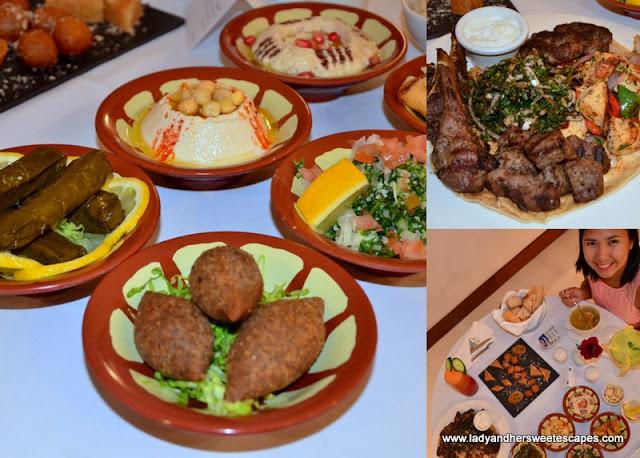 in-room dining at Villa Rotana