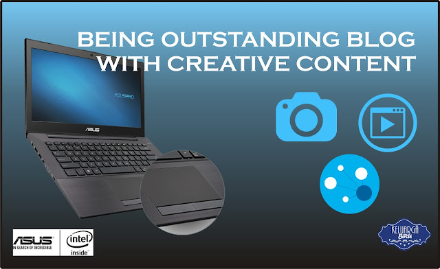 Being Outstanding Blog with Creative Content