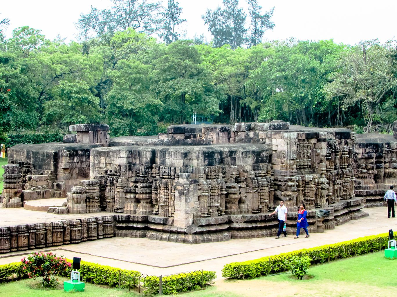 Konark Sun Temple Garden Premises