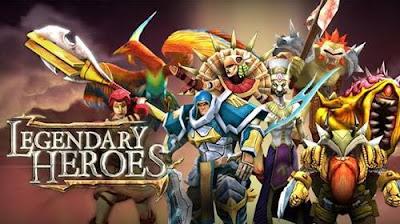Legendary Heroes MOBA v3.0.27 Apk Mod [Moedas Infinitas]