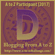 #AtoZChallenge - D is for Done